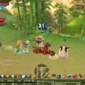 遊戲畫面 - 赤兔馬行走