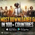 《PUBG MOBILE(絕地求生手機版)》於100個國家中手機遊戲下載排名第一 (1)